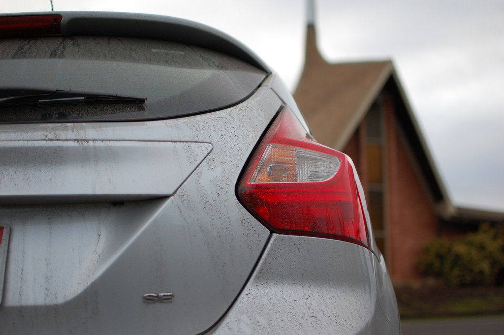 2012 Ford Focus Se Rear Tail Light Motoring Rumpus