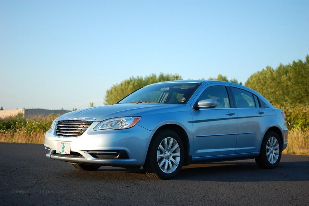 2012 Chrysler 200 Blue Motoring Rumpus