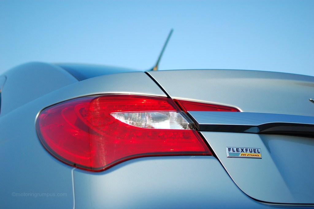 2012 Chrysler 200 Flex Fuel E85 Ethanol Badge Motoring Rumpus