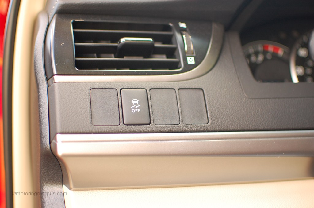 2012 Toyota Camry Traction Control Button Motoring Rumpus