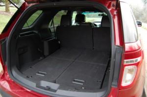 2013 Ford Explorer Folded Third Row