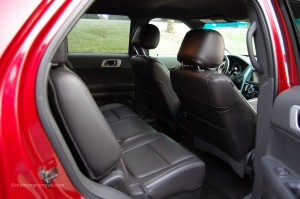 2013 Ford Explorer Second Row Seating
