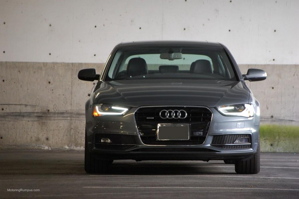 2014 Audi A4 Front