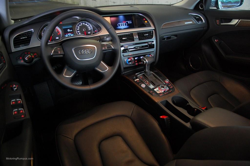2014 Audi A4 Front Seats