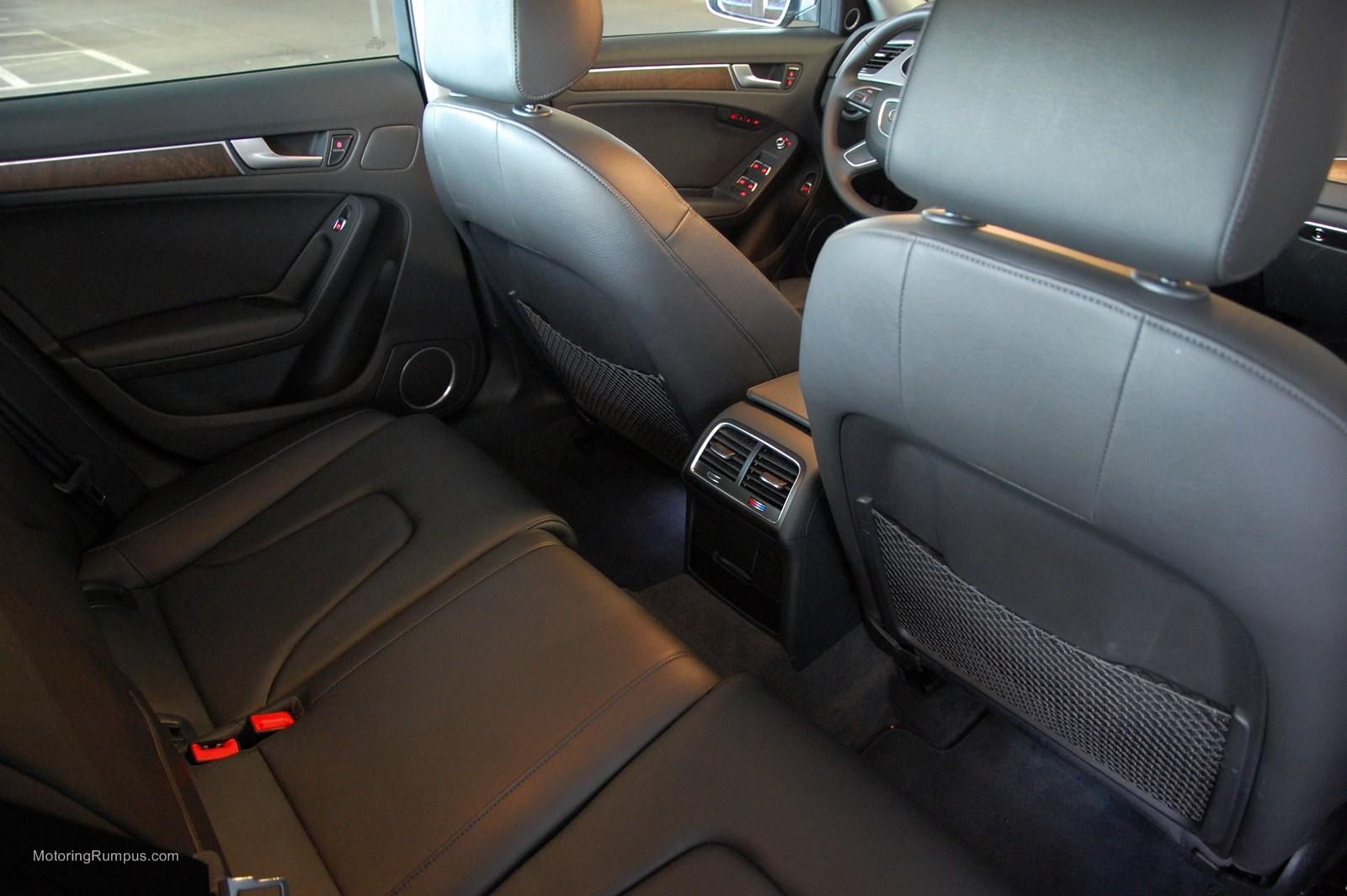 2014 Audi A4 Rear Seats Motoring Rumpus