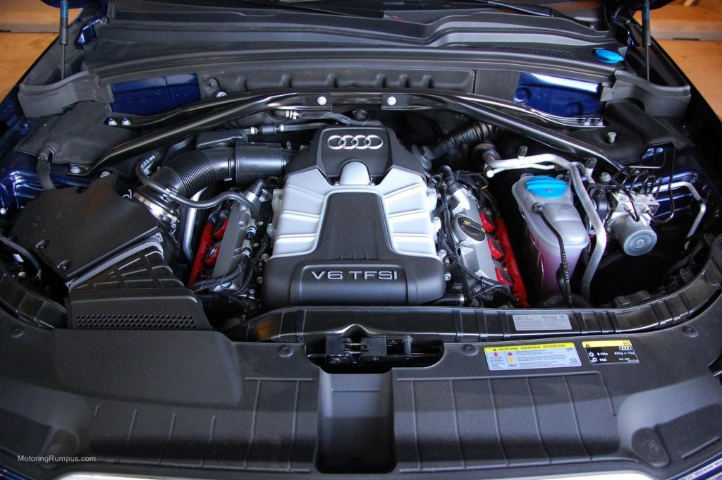 2014 Audi SQ5 3.0L TFSI V6 Engine
