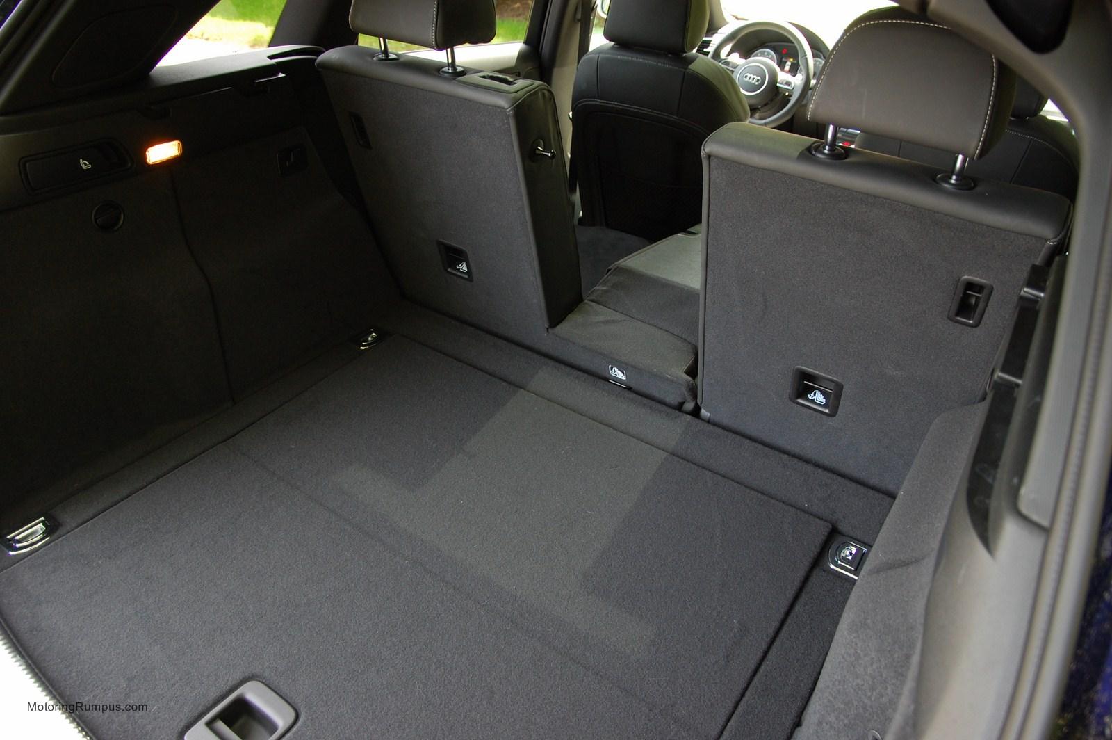 2014 Audi Sq5 Rear Seat Pass Through Motoring Rumpus