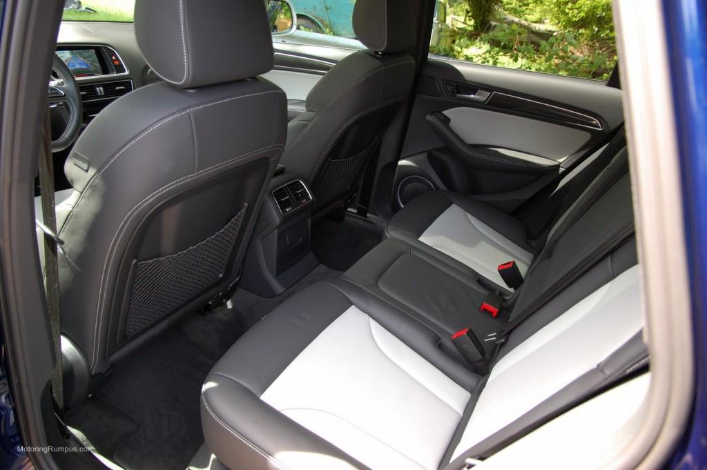 2014 Audi SQ5 Rear Seats
