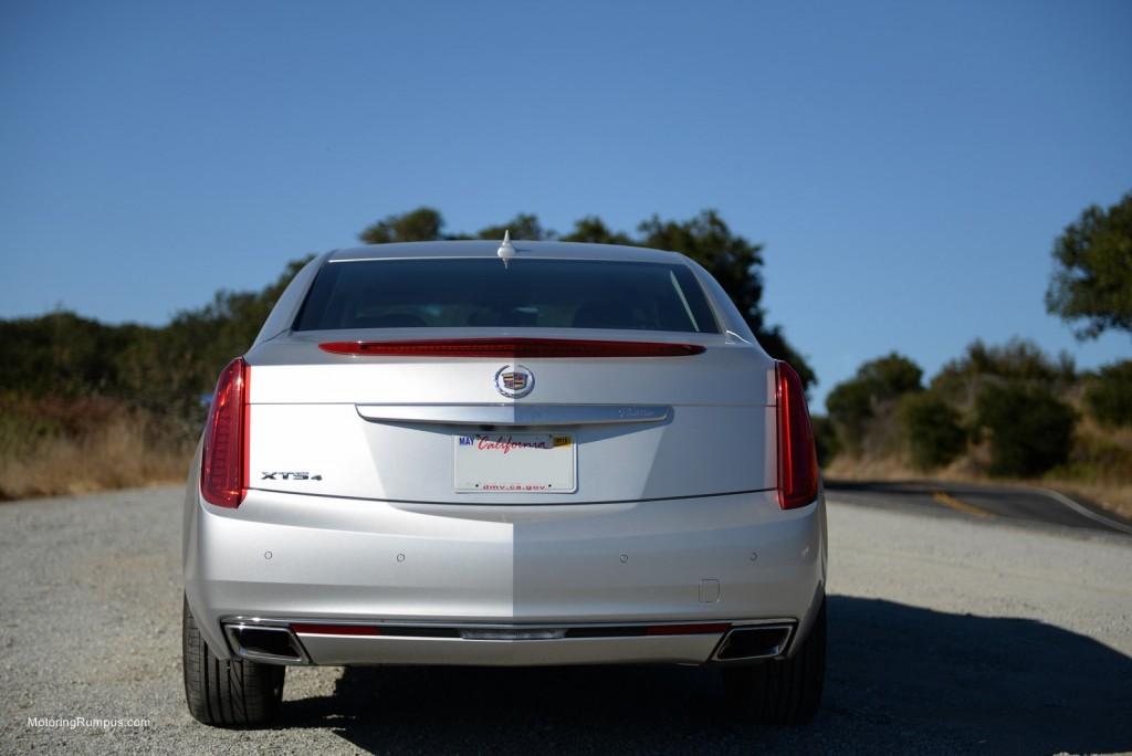2014 Cadillac XTS Rear