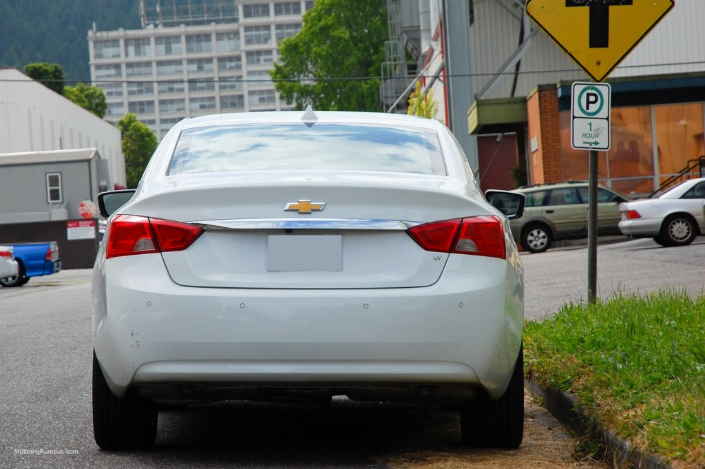 2014 Chevy Impala Rear