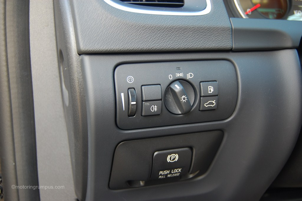2012 Volvo S60 Light Switch Motoring Rumpus