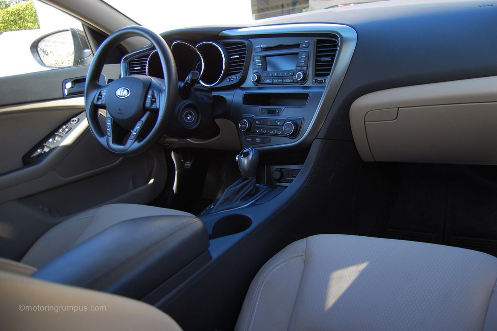 Kia Optima 2013 Interior 2013 Kia Optima Beige Interior