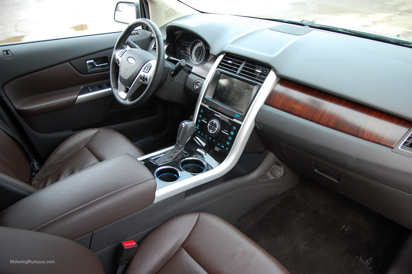 Perfect 2013 Ford Edge Sienna Interior