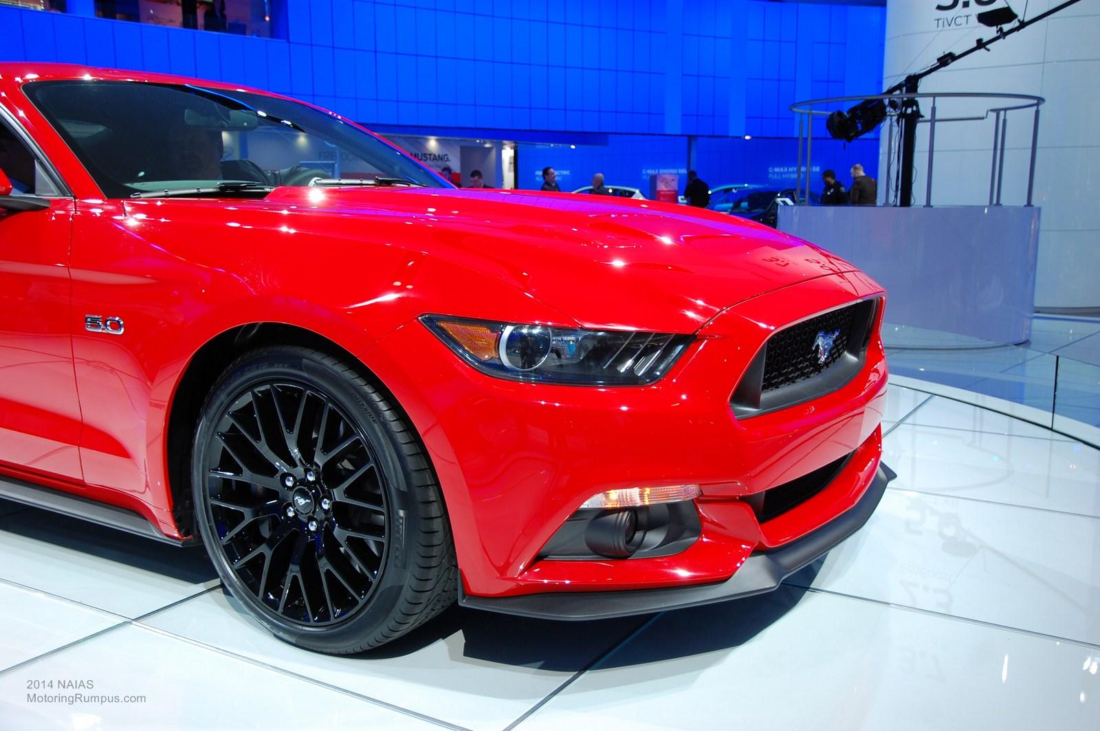 2014 Naias Ford 2015 Mustang 19 Inch Gloss Black Wheels