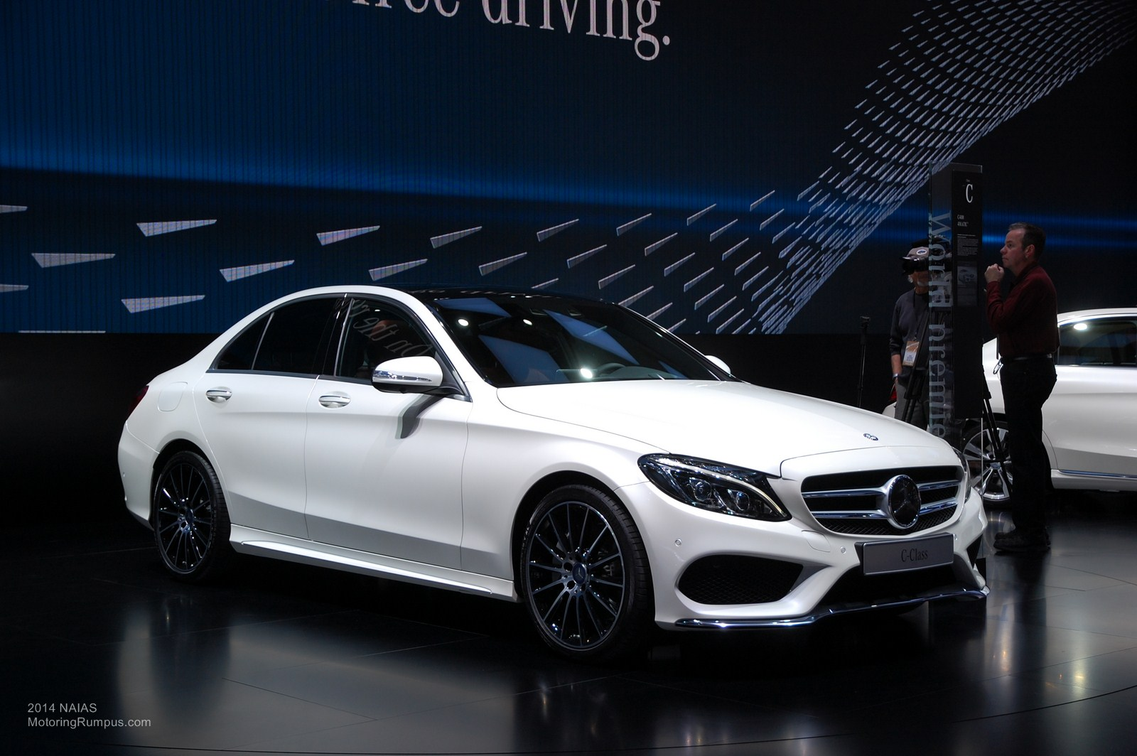 2014 naias mercedes benz c400 4matic motoring rumpus for Mercedes benz c400 4matic