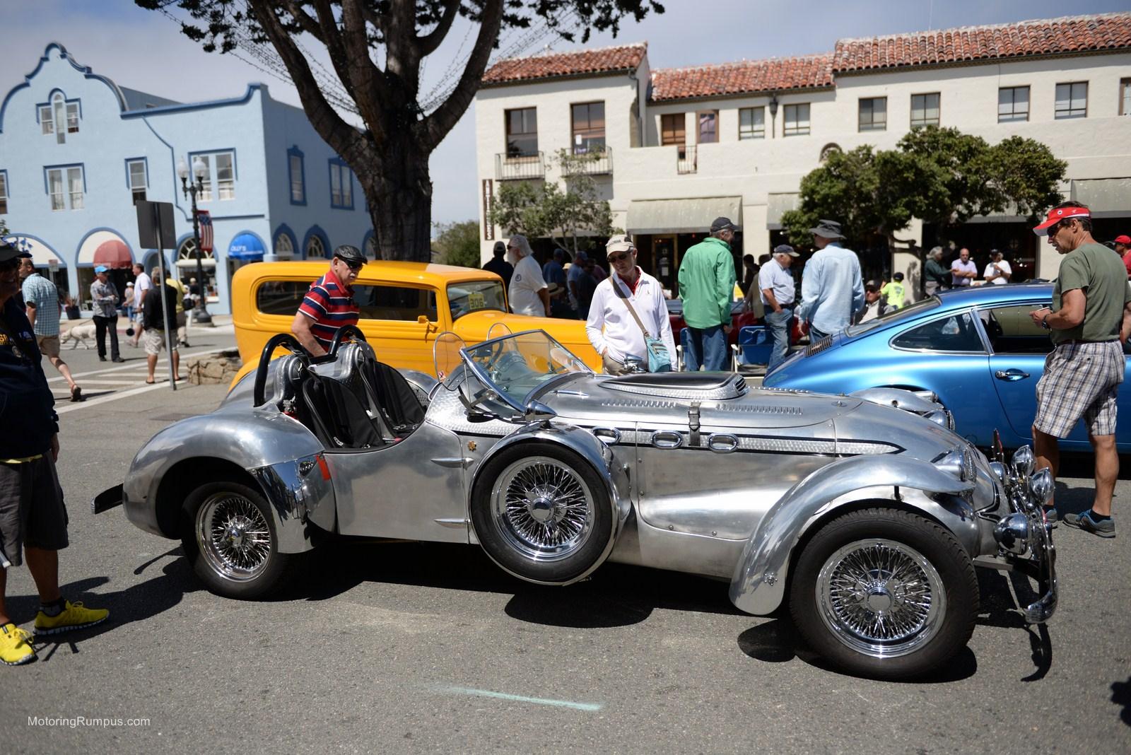 2014 Pacific Grove Concours Auto Rally 1950 Allard J2
