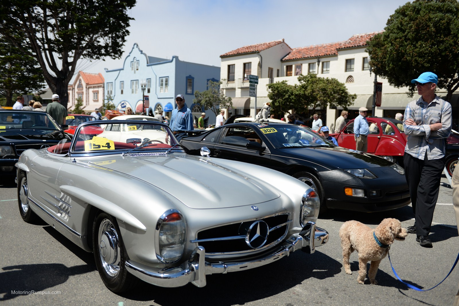2014 Pacific Grove Concours Auto Rally 1957 Mercedes