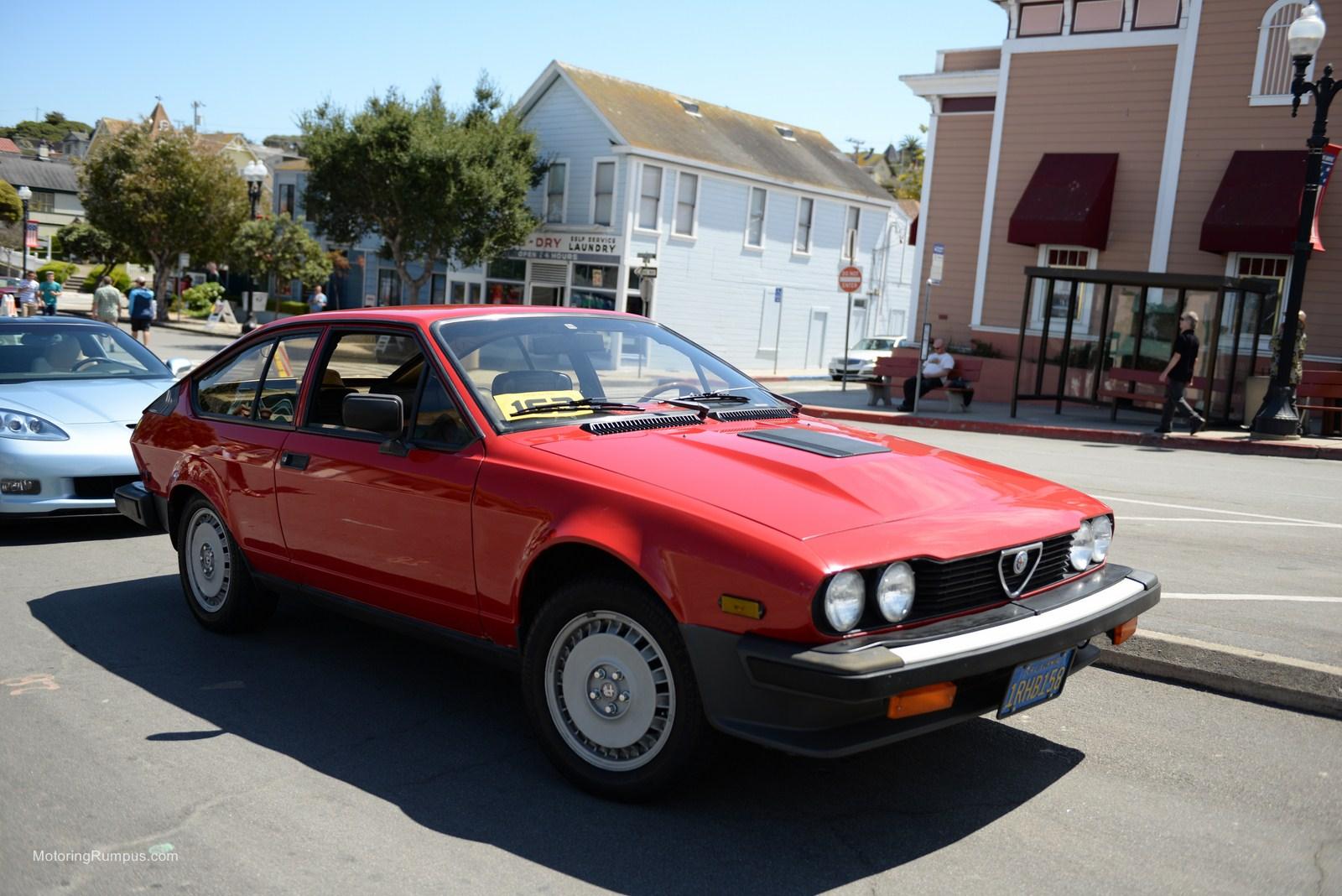 2014 Pacific Grove Concours Auto Rally 1981 Alfa Romeo