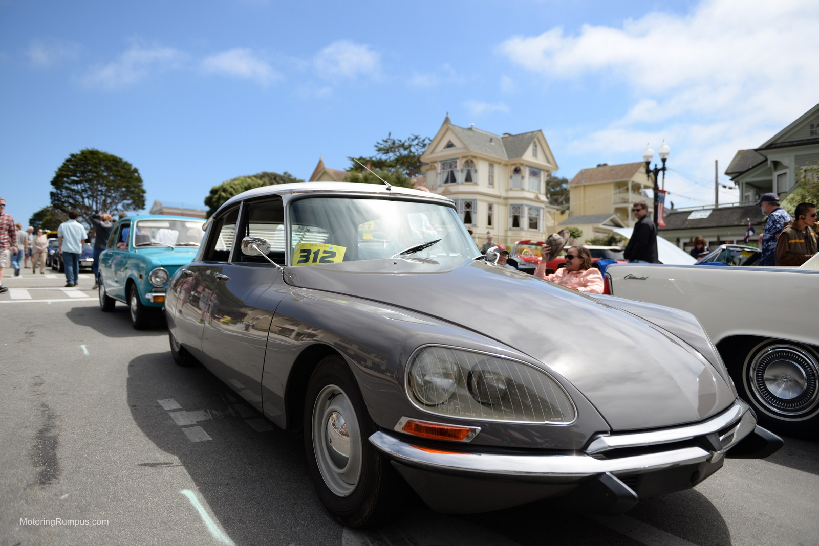 2014 Pacific Grove Concours Auto Rally Citroen Ds21