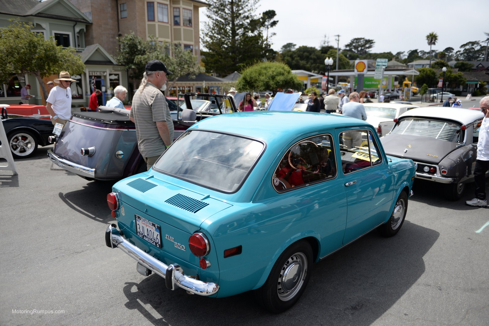 2014 Pacific Grove Concours Auto Rally Fiat 850