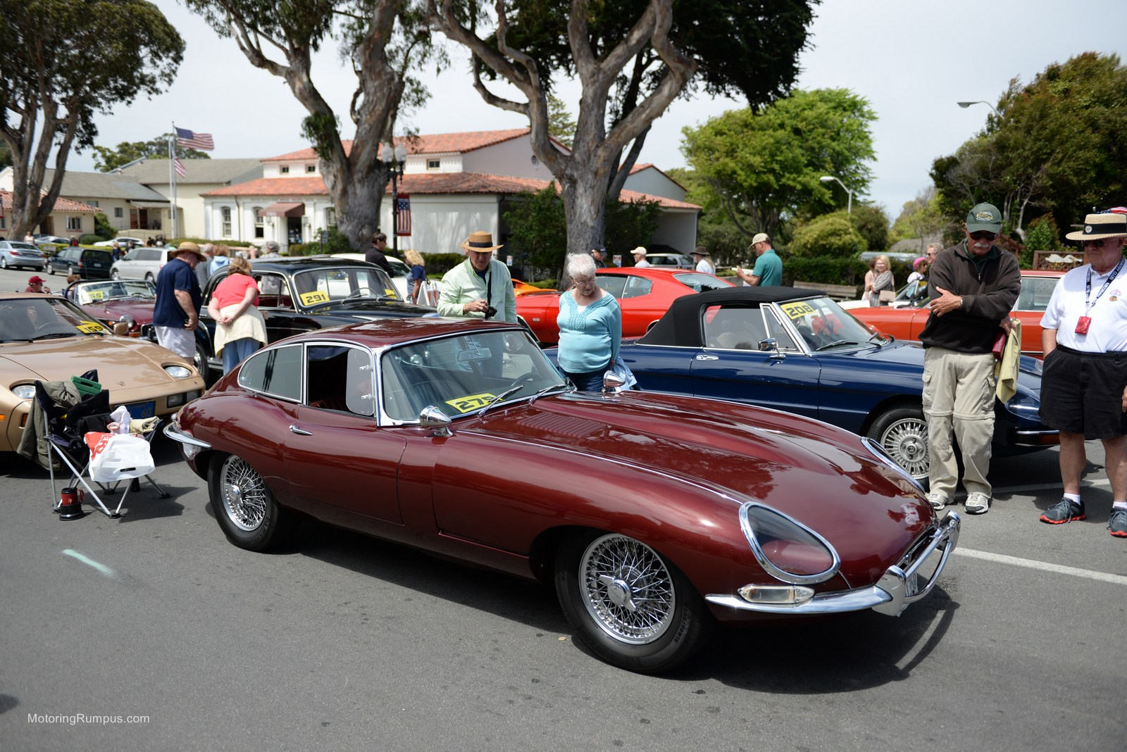 2014 Pacific Grove Concours Auto Rally Jaguar E Type
