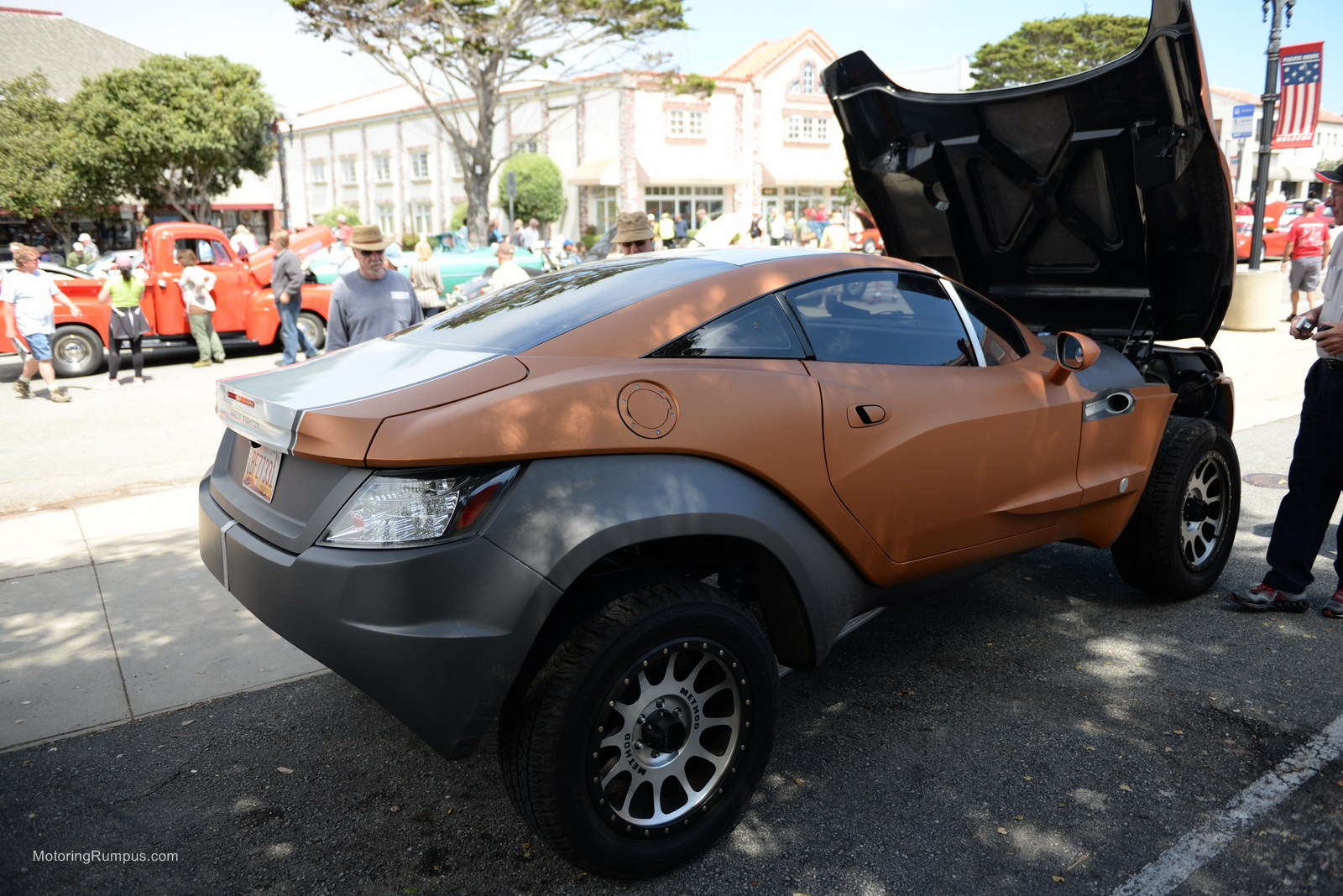 2014 Pacific Grove Concours Auto Rally Rally Fighter