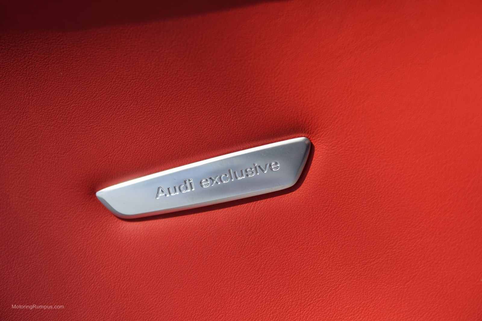 2013 Audi Tt Rs Audi Exclusive Interior Badge Motoring