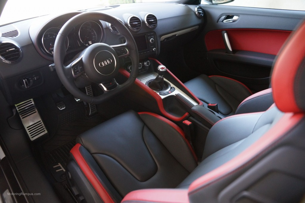 2013 Audi TT RS Exclusive Bicolor Black Crimson Red Interior