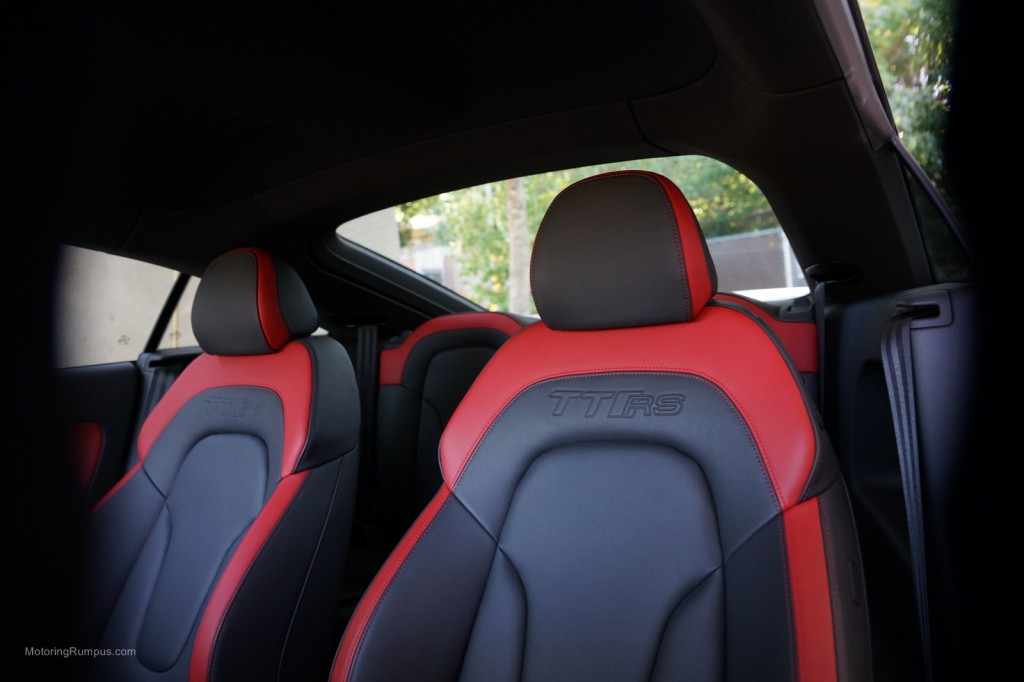 2013 Audi TT RS Exclusive Bicolor Interior