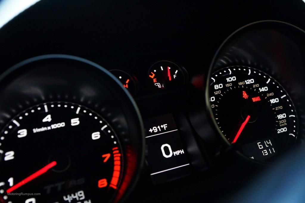 2013 Audi TT RS Instrument Cluster