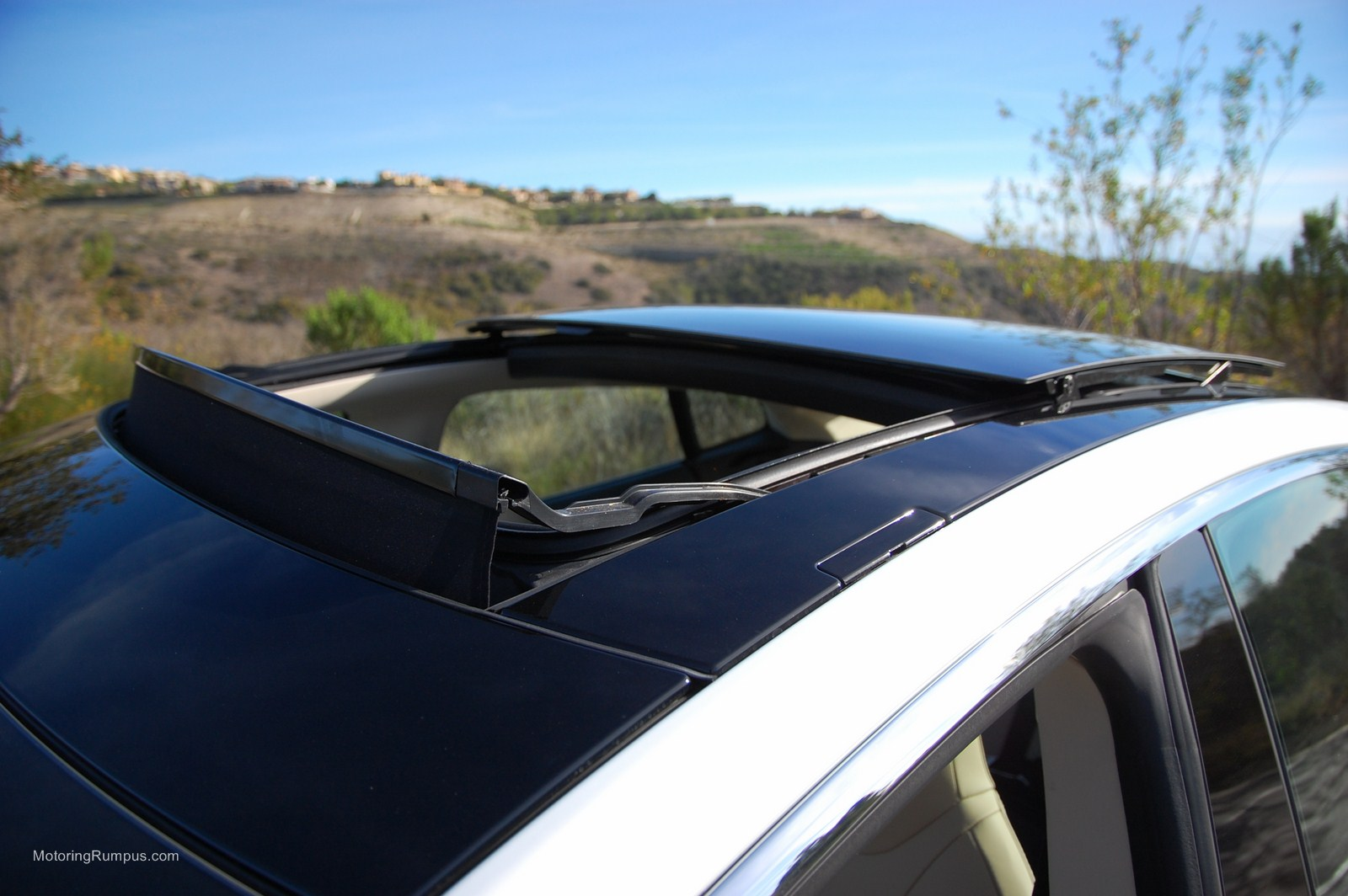 Tesla model s all glass panoramic roof