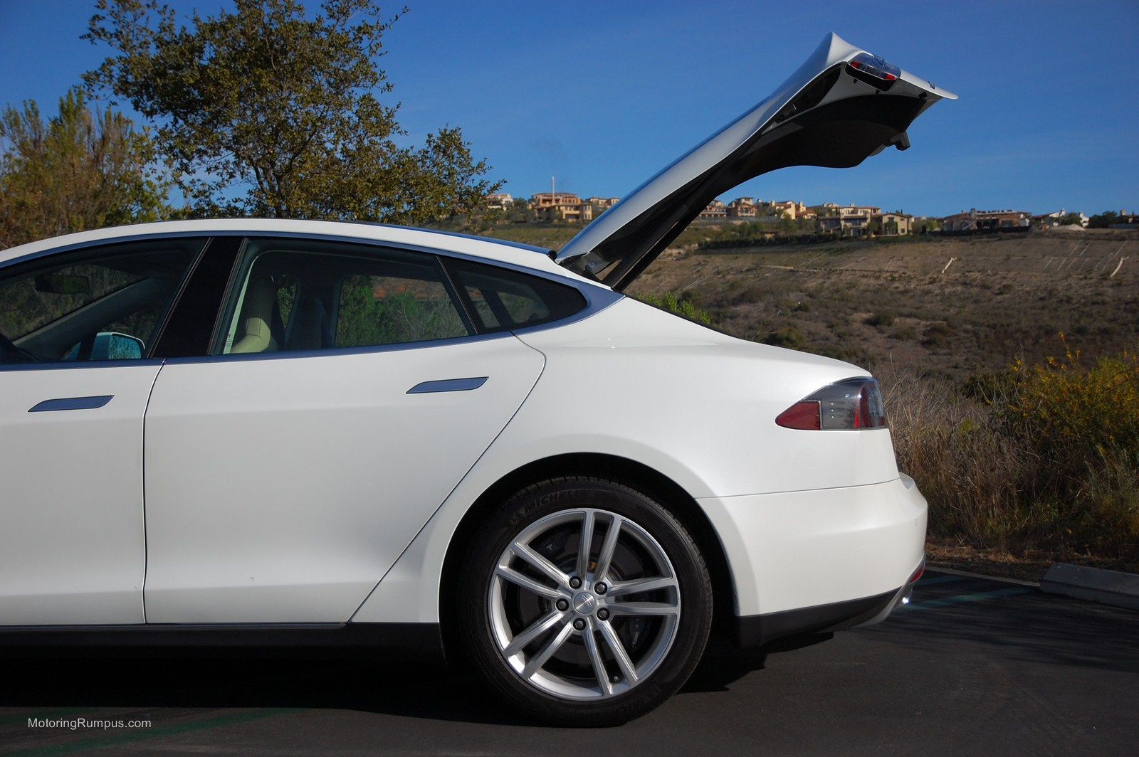2017 Tesla Model S Rear Liftgate
