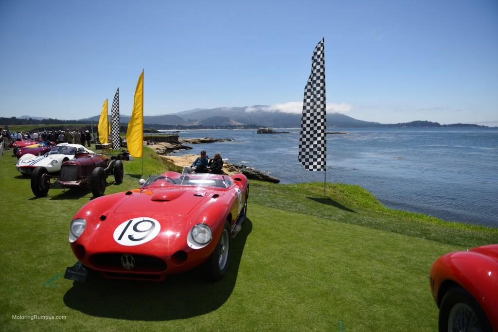 2014 Pebble Beach Concours d'Elegance - 1957 Maserati 450S Spyder