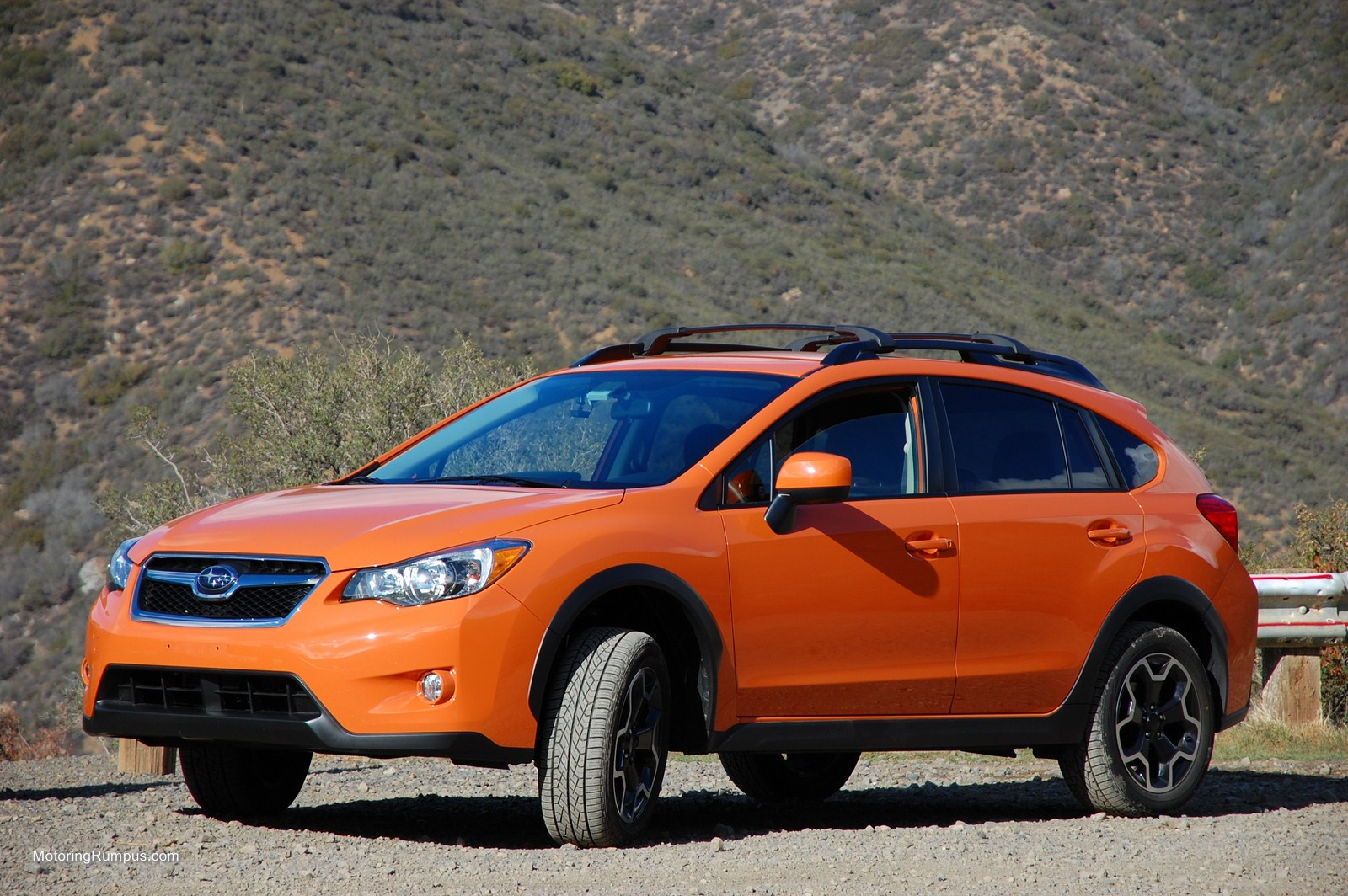 2014 Subaru XV Crosstrek Tangerine Orange Pearl - Motoring ...