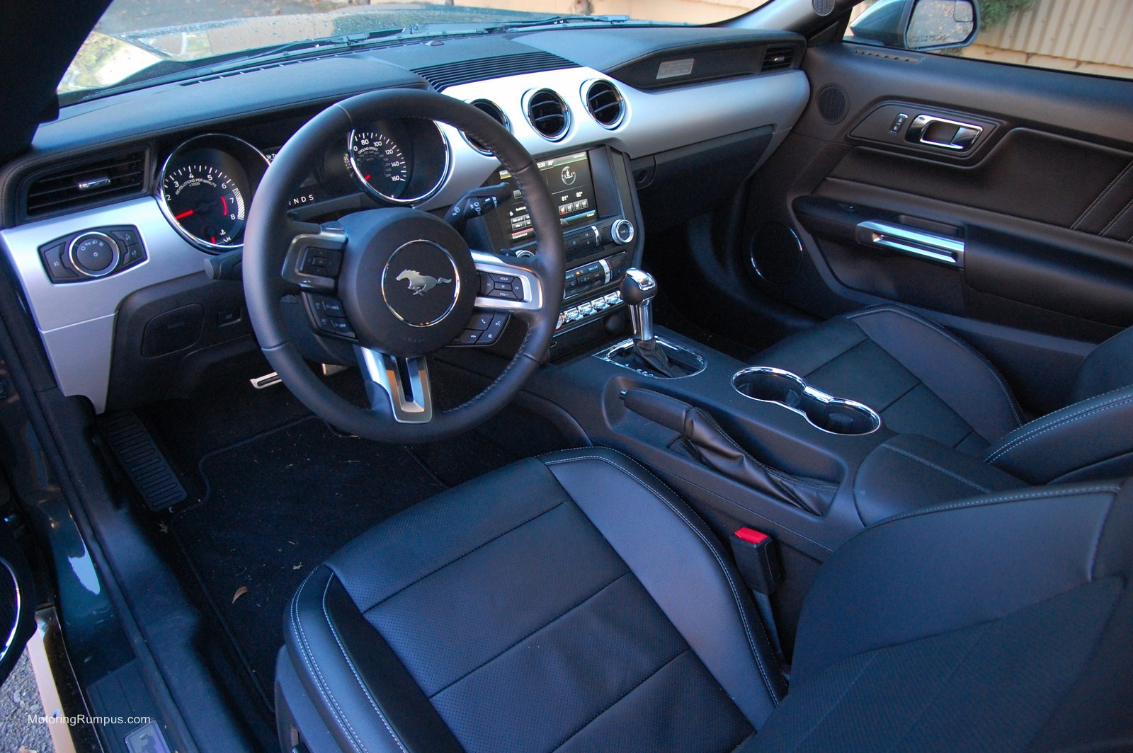 2015 ford mustang review motoring rumpus - Interior ford mustang ...