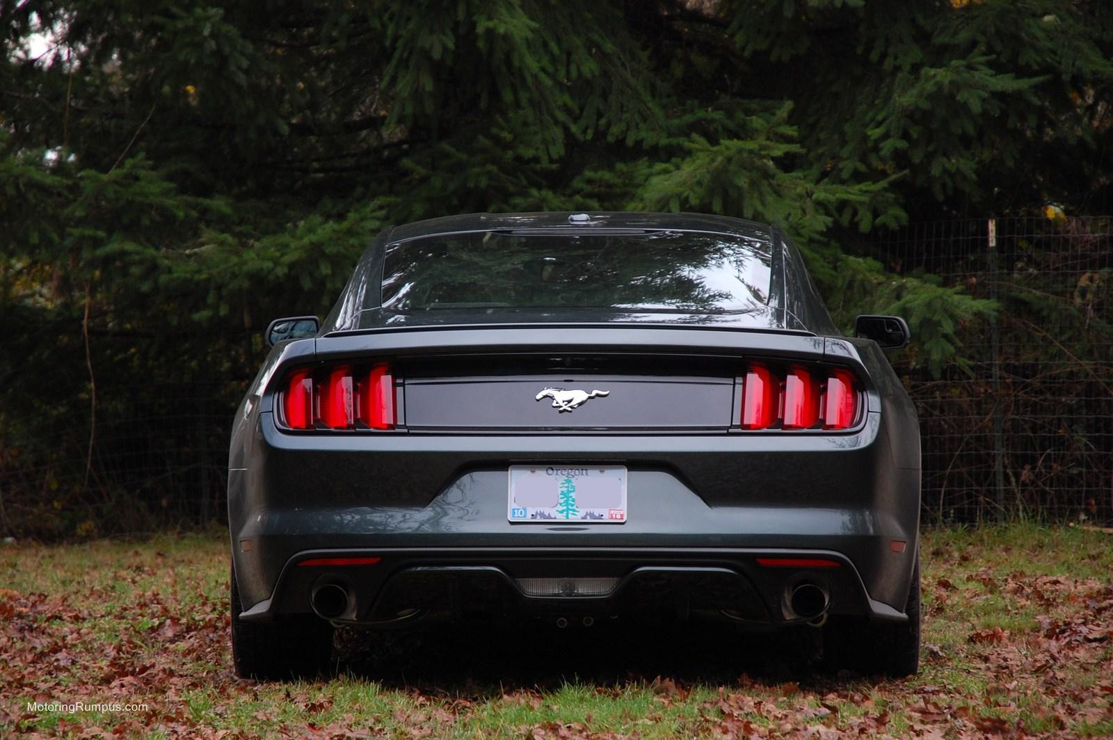 2015 Ford Mustang Rear - Motoring Rumpus