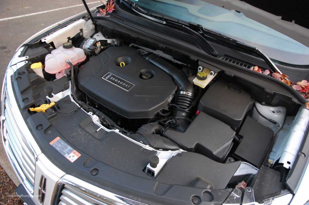 2015 Lincoln MKC 2.3L EcoBoost 4-Cylinder Engine