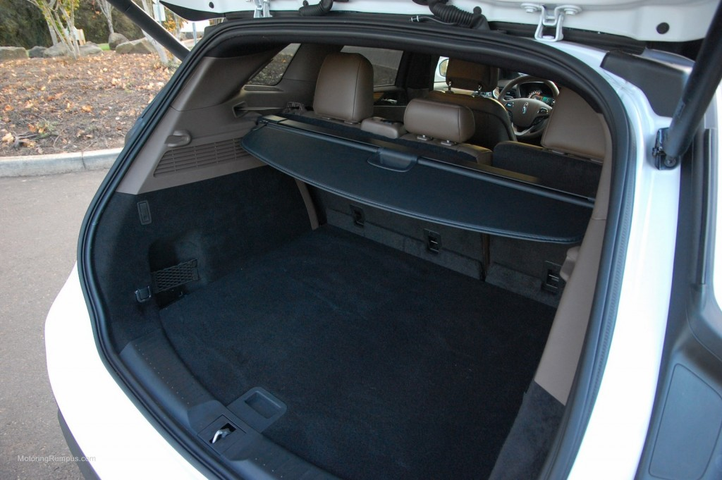 2015 Lincoln MKC Cargo Space