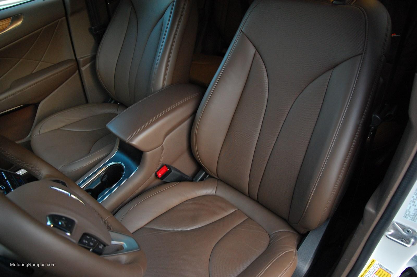 2015 Lincoln MKC Hazelnut Interior