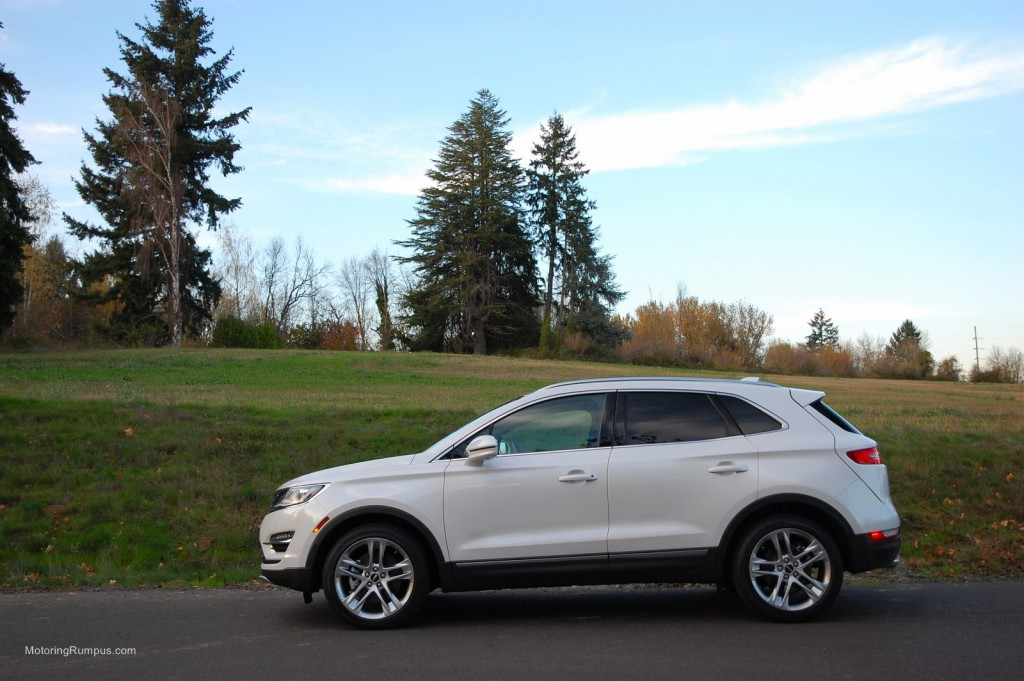 2015 Lincoln MKC White Platinum