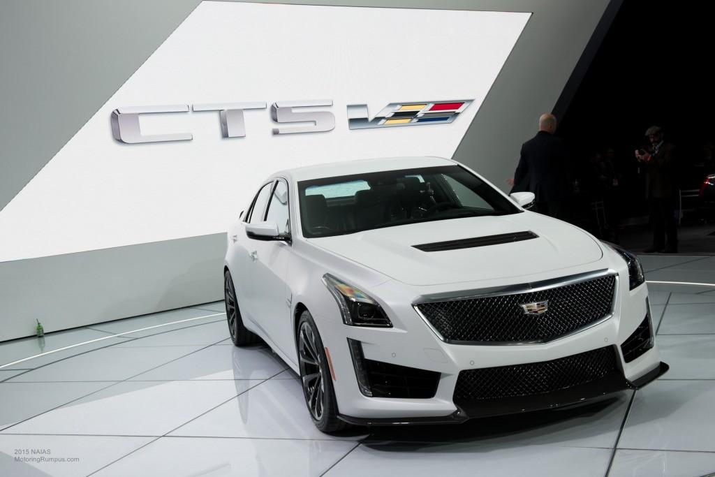 2015 NAIAS - 2016 Cadillac CTS-V