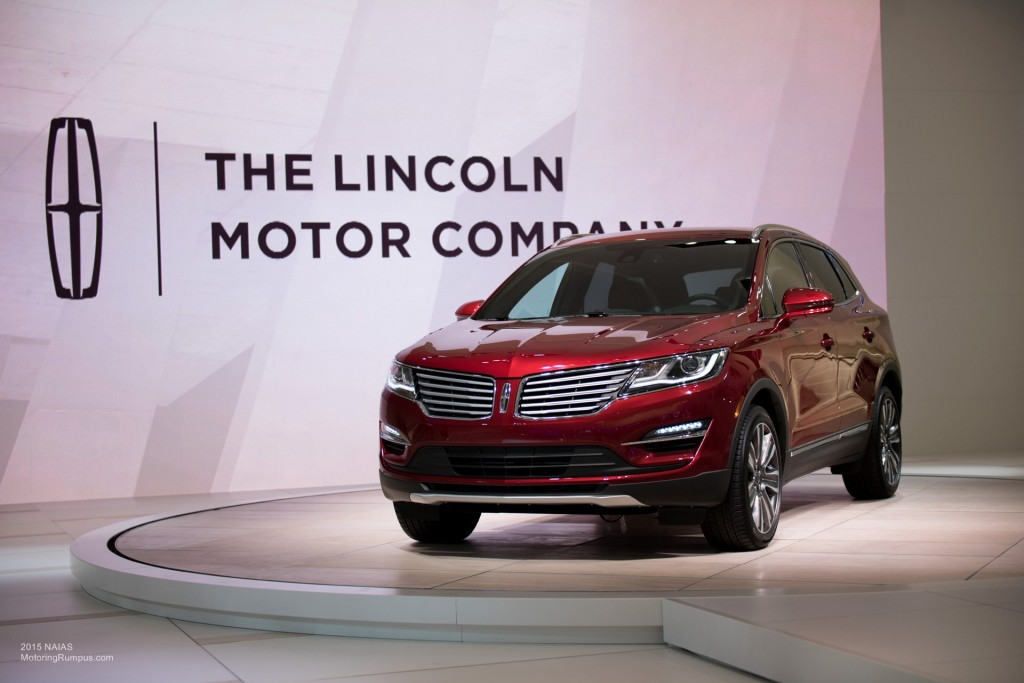 2015 NAIAS - 2016 Lincoln MKX