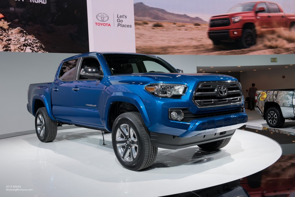 2015 NAIAS - 2016 Toyota Tacoma Debut