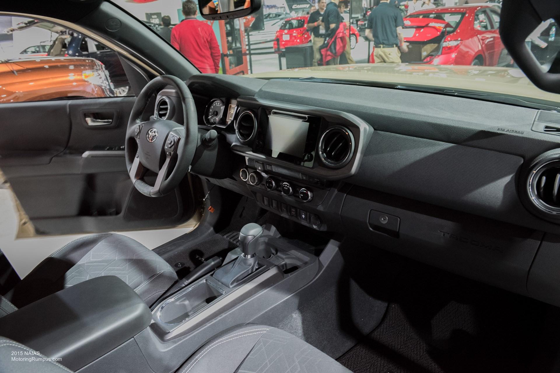 2015 NAIAS   2016 Toyota Tacoma Interior