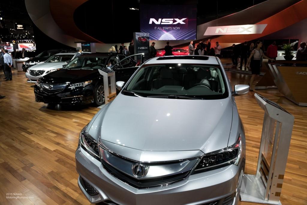 2015 NAIAS Acura