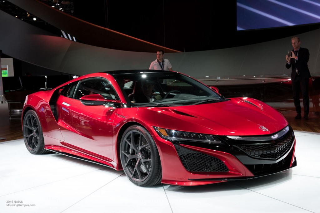 2015 NAIAS Acura Debut