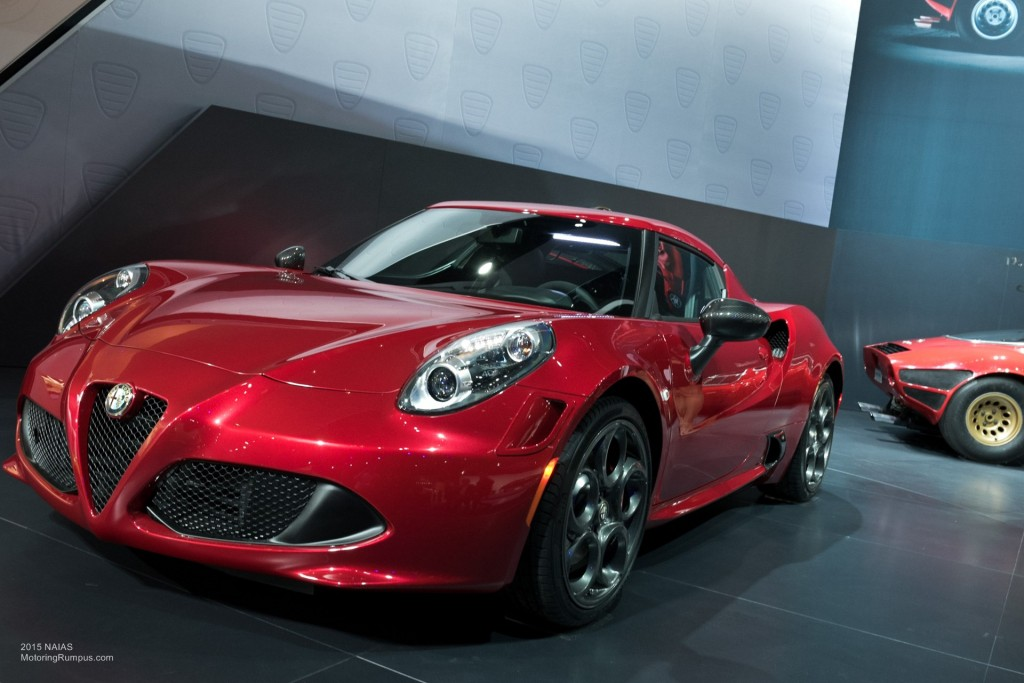 2015 NAIAS Alfa Romeo 4C Launch Edition