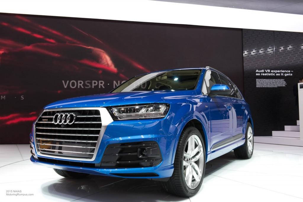 2015 NAIAS Audi Q7