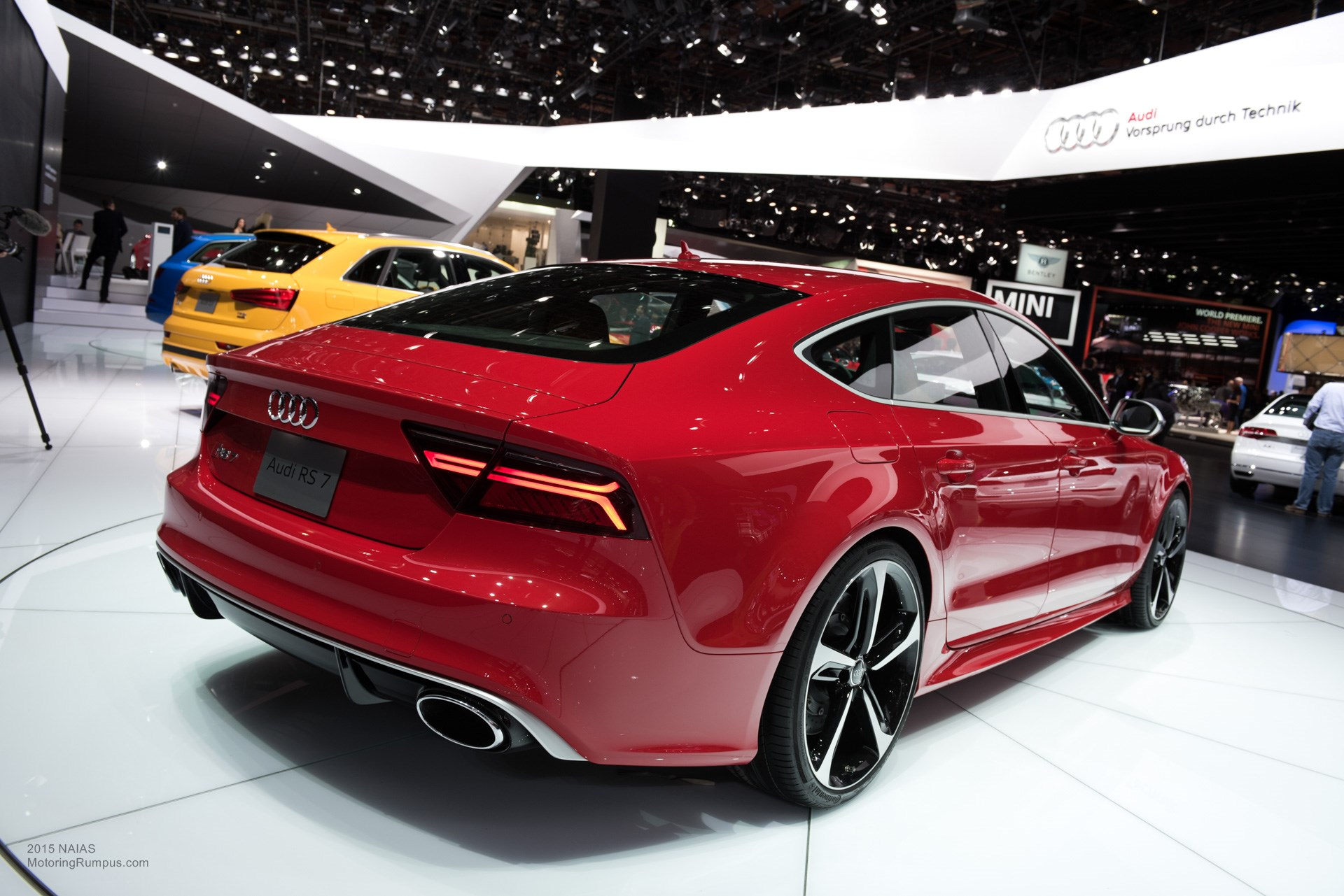 2015 Naias Audi Rs7 Rear Motoring Rumpus