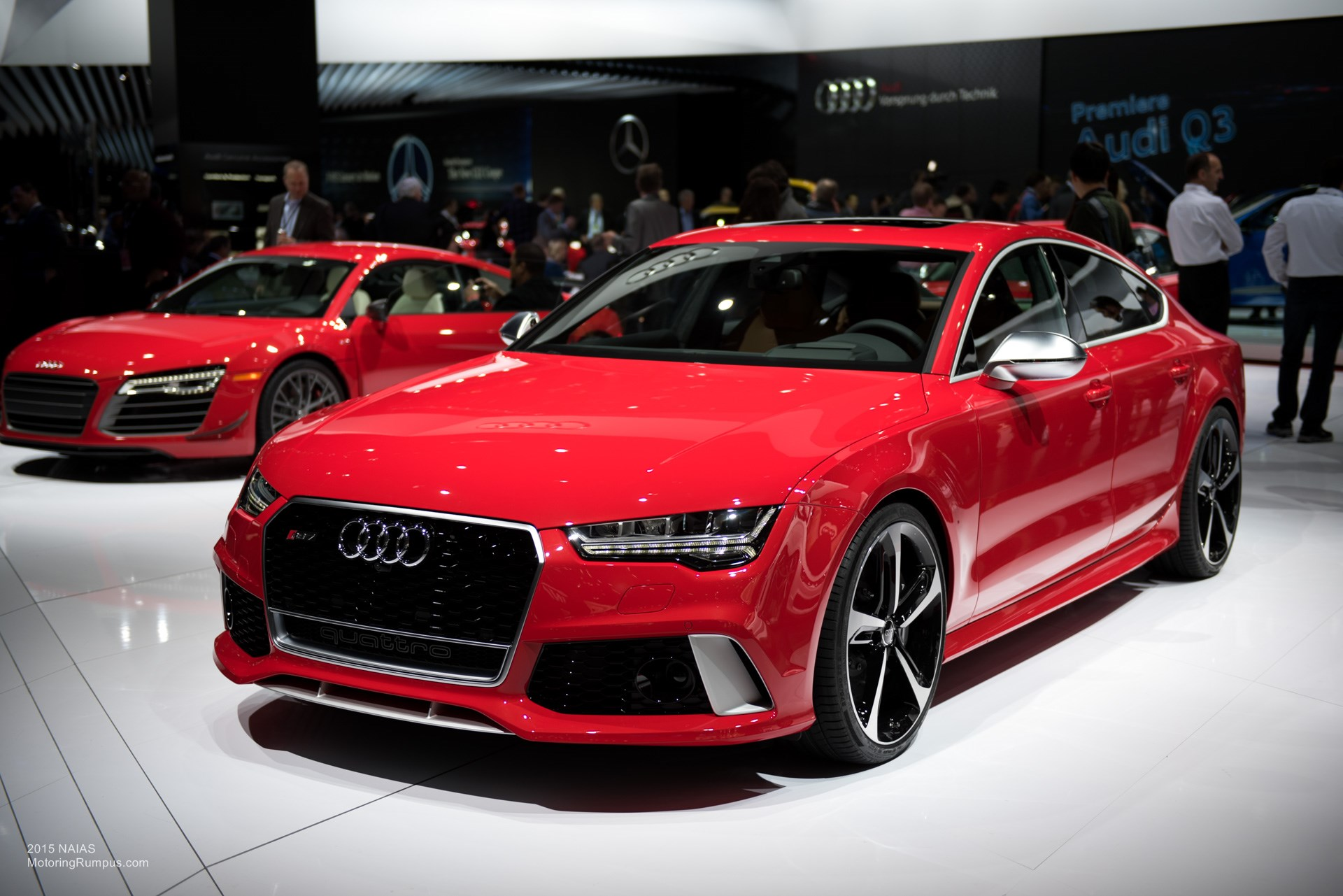 2015 naias audi rs7 motoring rumpus. Black Bedroom Furniture Sets. Home Design Ideas